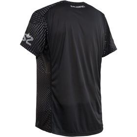 Salming Breeze Camiseta Hombre, black aop/black melange